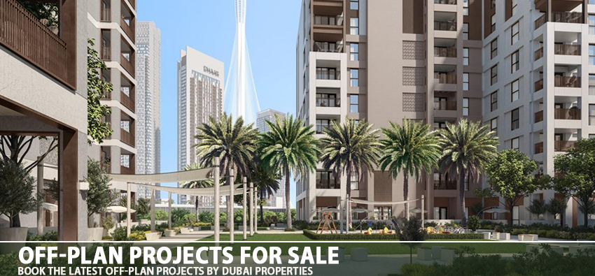 Off-plan projects for sale