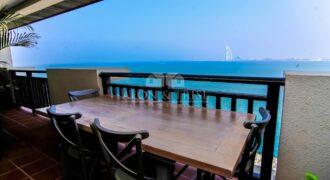 Burj Al Arab View   Sea View I Luxury Furnished