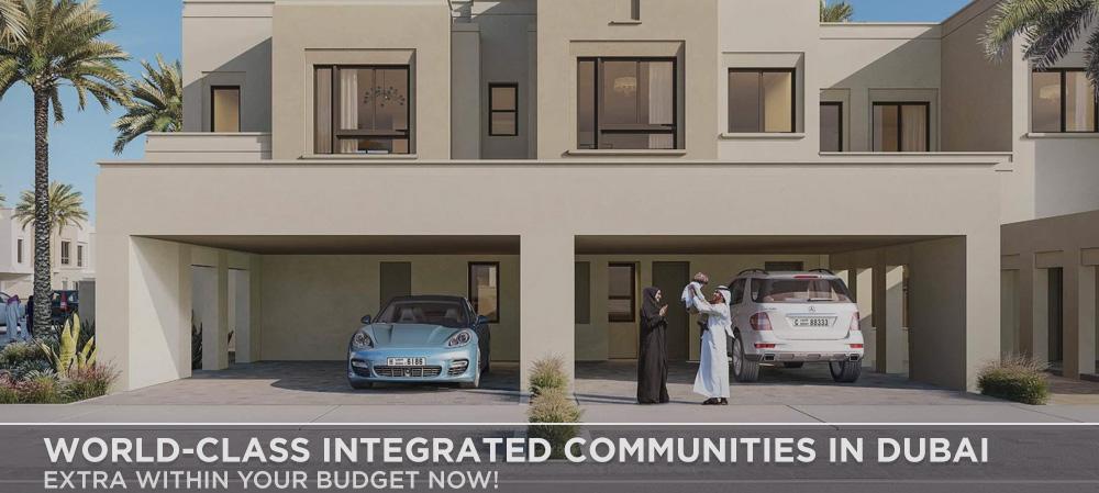 World-Class Integrated Communities In Dubai