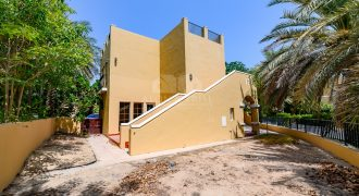BEAUTIFUL 3 BEDS / CHILLER FREE Villa in Arenco Villas, Al Sufouq