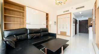 Studio Furnished Apartment with Pool View