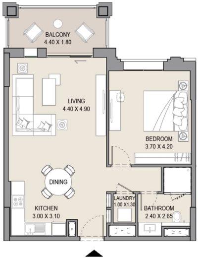 Floor Plans in Madinat Jumeirah Living