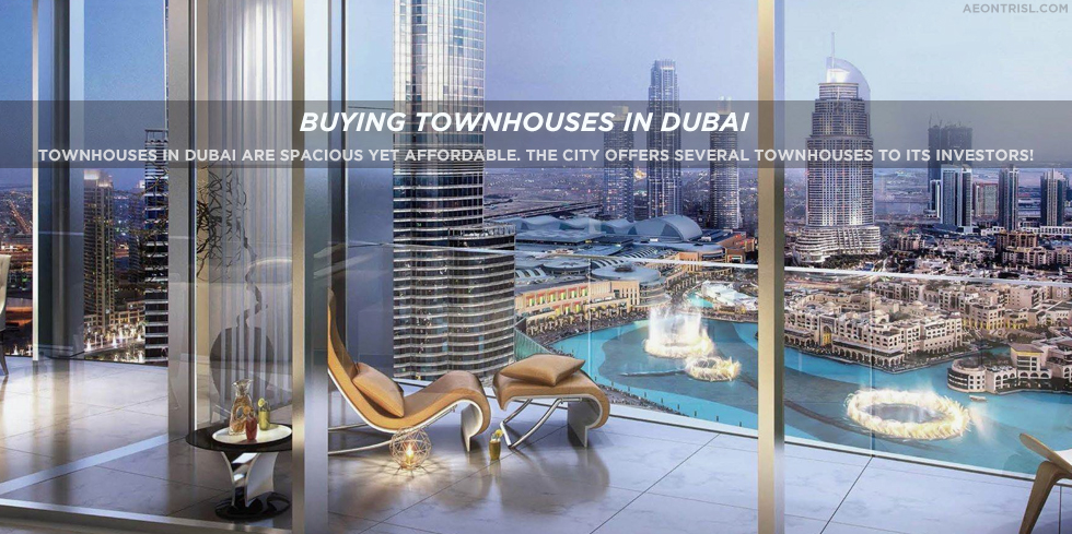Luxury Townhouses In Dubai