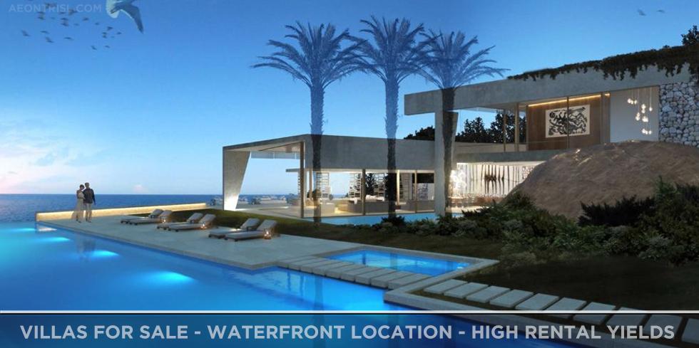 Dubai Villas for Sale - Waterfront Location