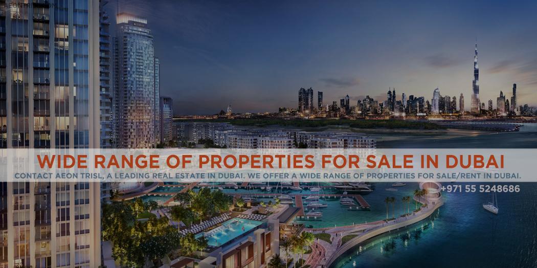Wide Range Of Properties For Sale In Dubai