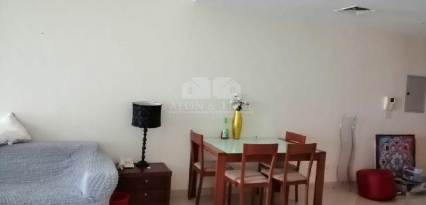 Elegant furnished 1 bedroom in Saba tower 2 park view