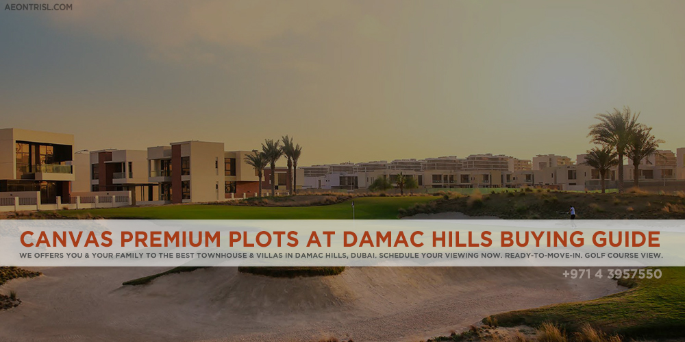 Damac Hills Canvas Plots