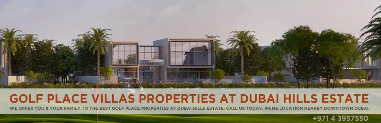 Golf Place Villas Properties At Dubai Hills Estate   Dubai Golf Place Overview