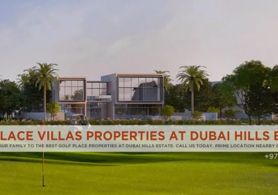 Golf Place Villas Properties At Dubai Hills Estate | Dubai Golf Place Overview