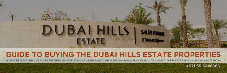 Dubai Hills Estate Property Buying Guide