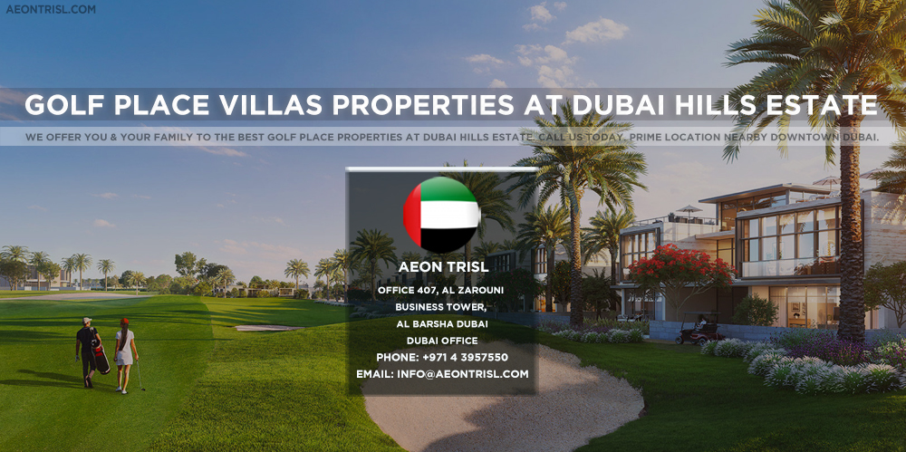 Golf Place Villas Properties At Dubai Hills Estate