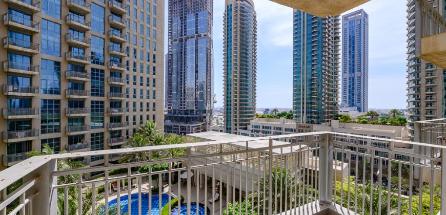 1 Bedroom   Balcony with Pool View   Vacant