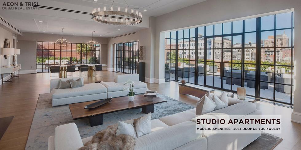 Dubai Studio With Modern Amenities