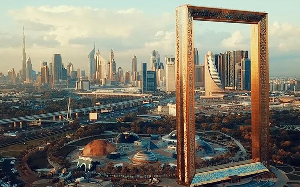 See the New and Old Dubai through Dubai Frame