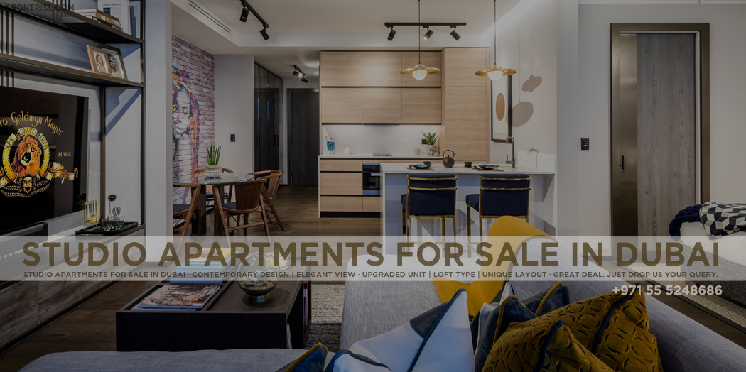 Studio Apartments For Sale in Dubai   Dubai Property Trend
