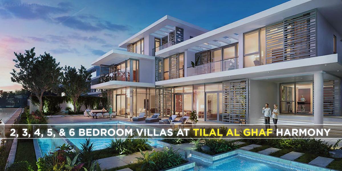 3, 4, 5, & 6 Bedroom Villas-Tilal Al Ghaf Harmony Villas