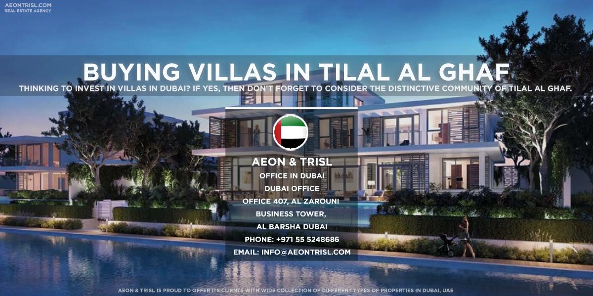 Buying a Villas in Tilal Al Ghaf