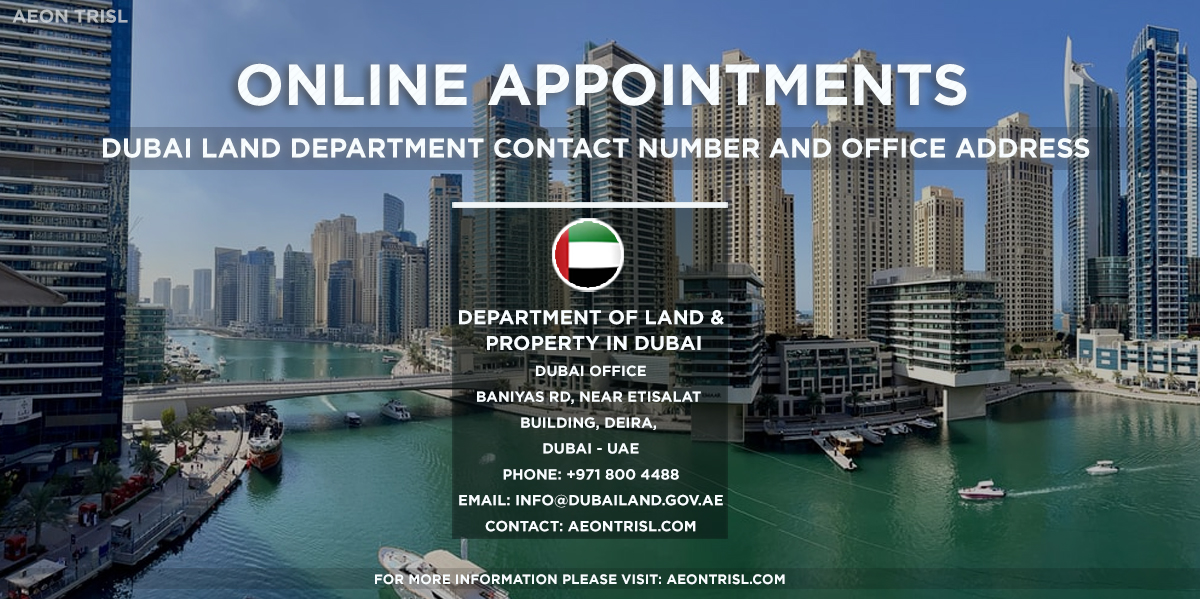 Dubai Land Department Contact Number And Office Address