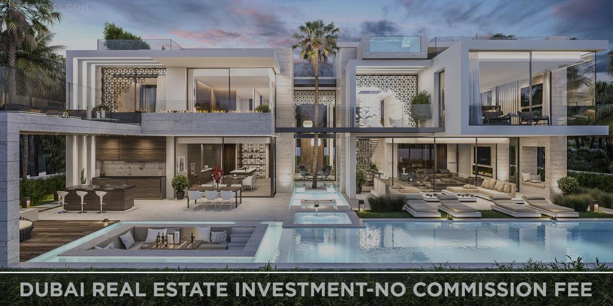 Leading Property Market Dubai   Dubai Real Estate Investment-No Commission Fee